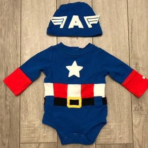 Disney Captain America Costume Onesie